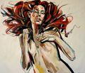 RED HAIR by Anna Bocek