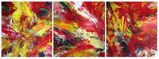 Triptych OF-33. by Oleg Frolov