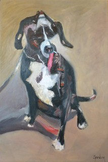 Dog on a Leash by Scott Andrew Spencer