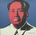 Andy Warhol signed lithograph Mao Zedong authenticated by Andy Warhol