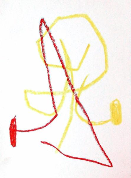 Untitled - Miró Musee d'Art Moderne, Paris. by Joan Miró