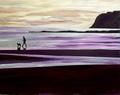Dusky purple twilight by Eli Gross