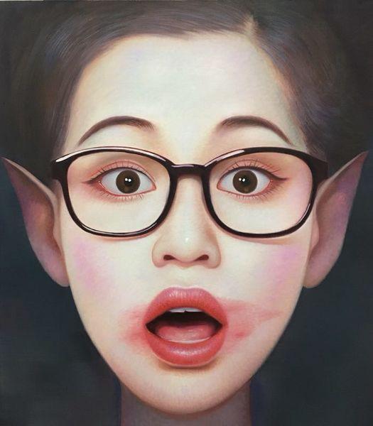 Beijing Girl 03 by Zhang Xiangming
