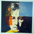 John Lennon by Andy Warhol, 1985 - 1986. by Andy Warhol
