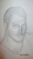 Portrait Freddie Mercury by Gergana Kirkova