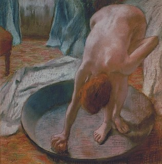 The Tub by Hilaire-Germain-Edgar Degas