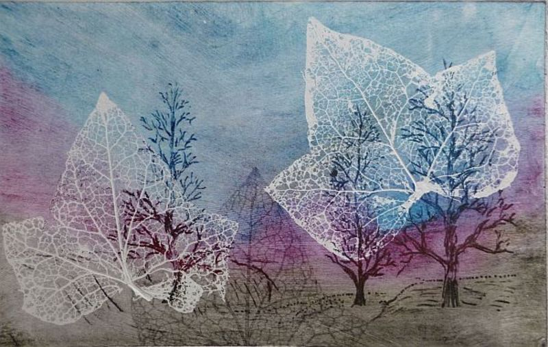 TREES AND LEAVES 5 by Rosario de Mattos