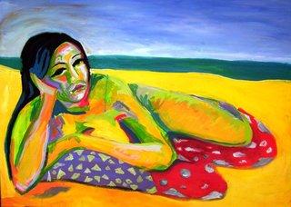 BEACH by Raquel Sarangello