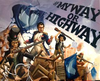 """My way or Highway by Carlos Cenoz Bermejo """"Dino"""""""