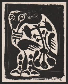 Le Grand Hibou (aka The Great Owl) by Pablo Picasso
