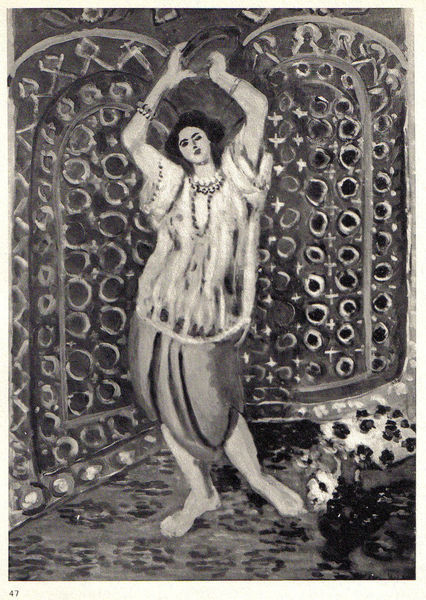 Dancer with Tambourine by Henri Matisse