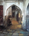 A street of Fes by Miquel Cazaña