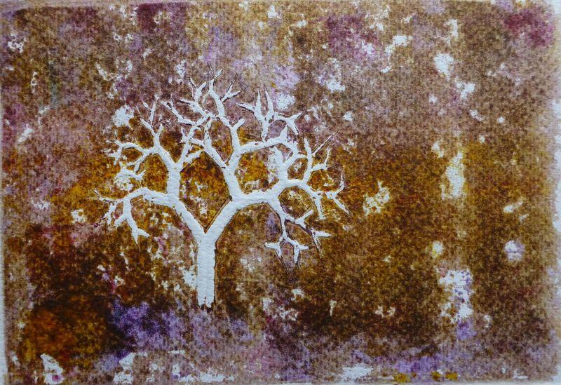 Fractal trees 5 Author's test 2 of 5 by Rosario de Mattos