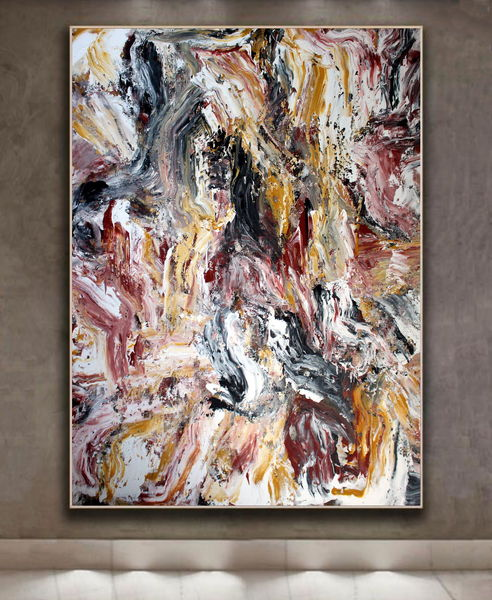 Abstract Painting OF-XJ3a by Oleg Frolov