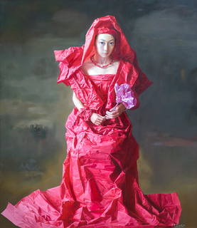 Red Paper Bride by Zeng Chuanxing