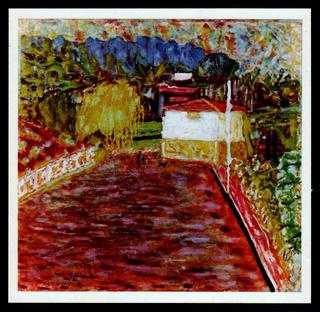 Le Chemin (aka The path) by Pierre Bonnard