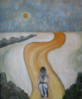 Woman in search of her destiny. by Fernando Gomila