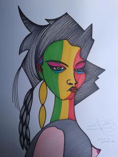 SONIA GARCES by Angel Escalera