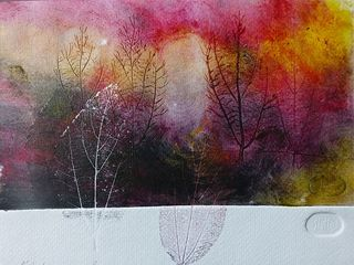 TREES AND LEAVES 25 by Rosario de Mattos